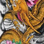 How to design your first Japanese Dragon Tattoo? 3