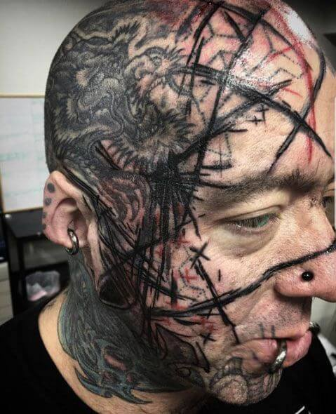 Face tattoos ? Which one should you get! 1