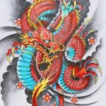 How to design your first Japanese Dragon Tattoo? 8