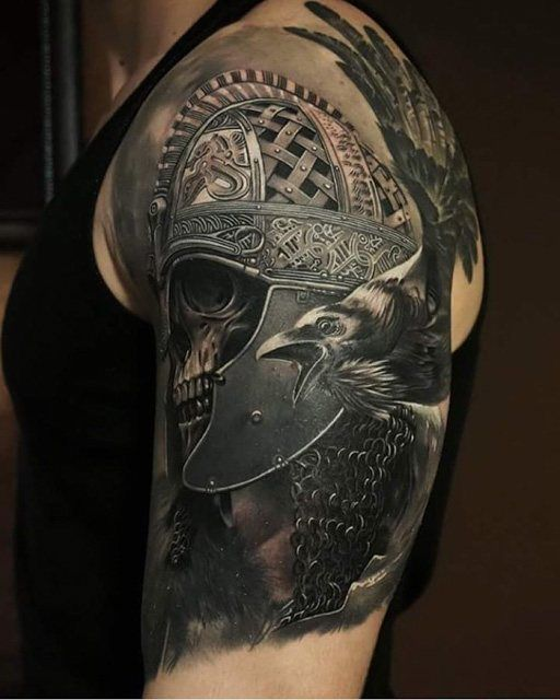 Mjolnir tattoo ideas you need to know of 1