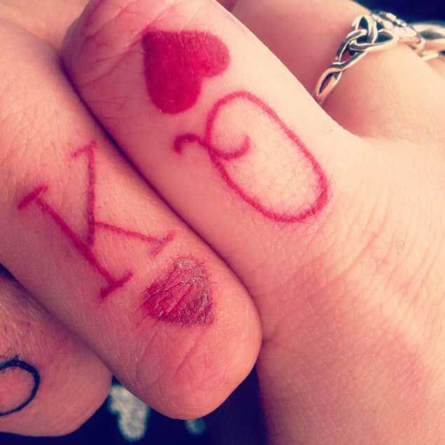 Amazing King and Queen Tattoos for passionate lovers 6
