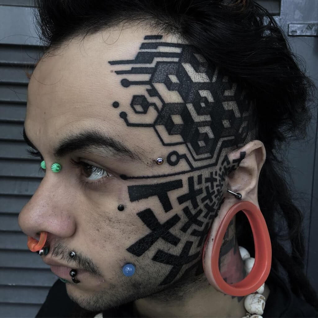 Face tattoos ? Which one should you get! 2