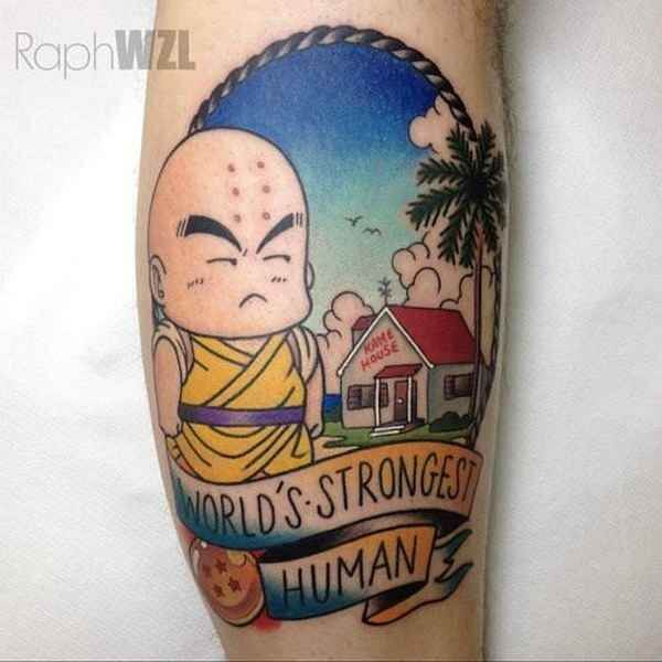 Dragon Ball Z Tattoos the ultimate manga/Anime 9