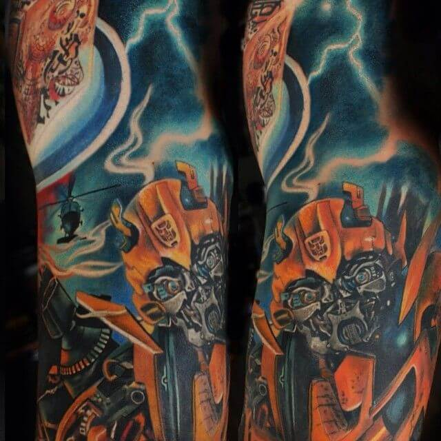 Getting a Transformers tattoo after watching the films 1