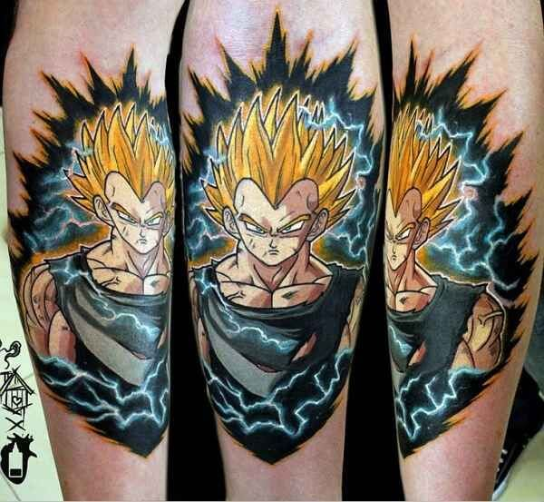 Dragon Ball Z Tattoos the ultimate manga/Anime 13