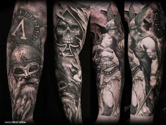 Mjolnir tattoo ideas you need to know of 23