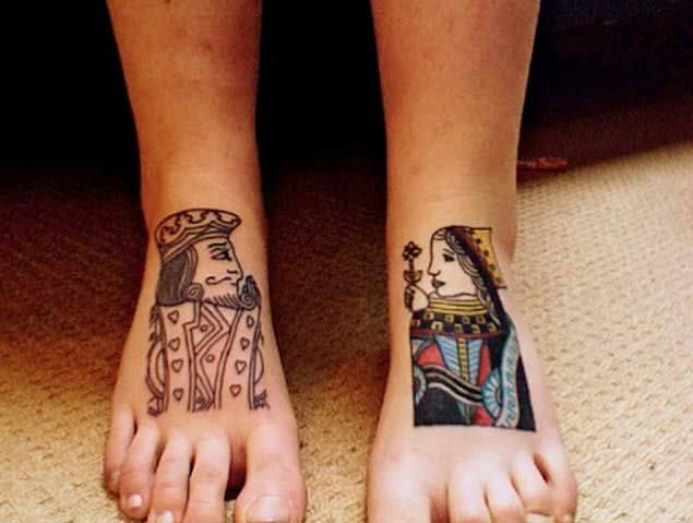 Amazing King and Queen Tattoos for passionate lovers 20