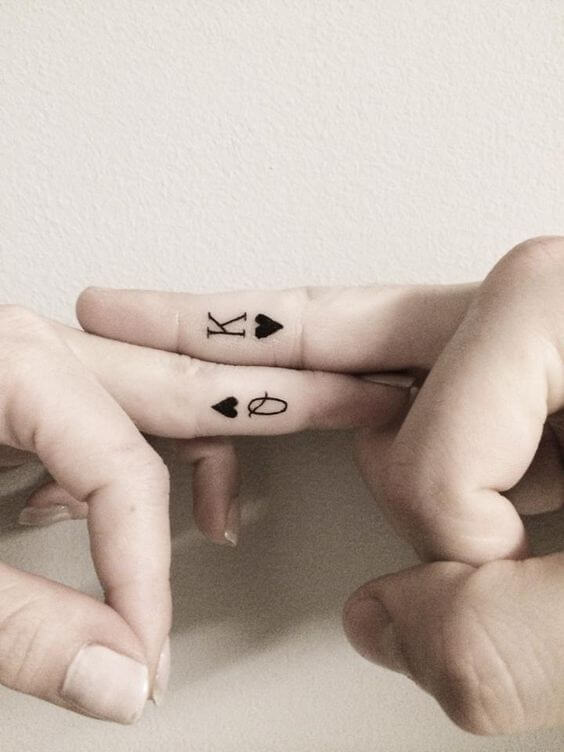 Amazing King and Queen Tattoos for passionate lovers 8