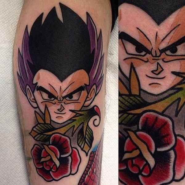 Dragon Ball Z Tattoos the ultimate manga/Anime 4