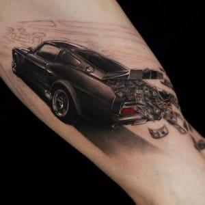 See ideas about 3D tattoos that will blow your mind 4