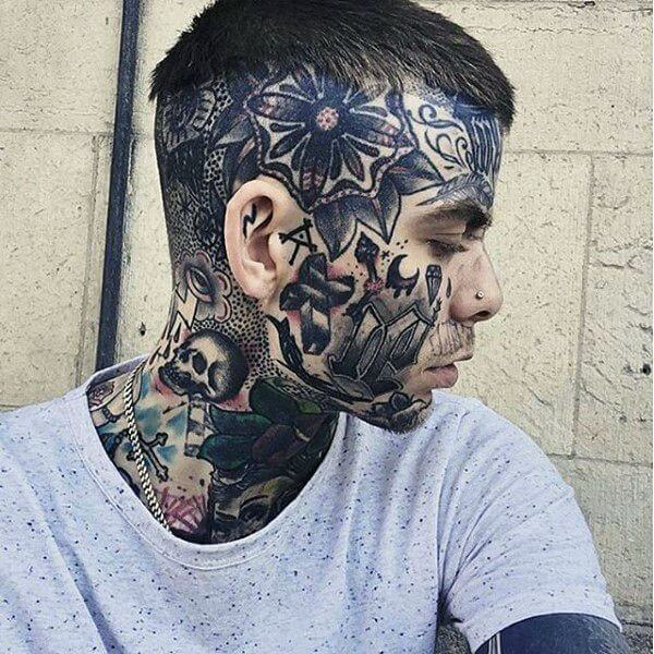 Face tattoos ? Which one should you get! 4