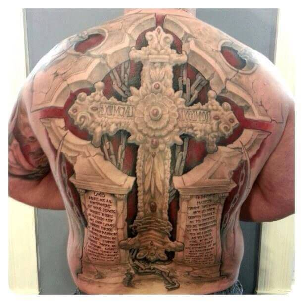 See ideas about 3D tattoos that will blow your mind 27