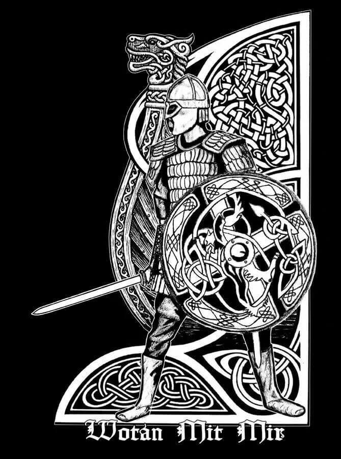 Mjolnir tattoo ideas you need to know of 6