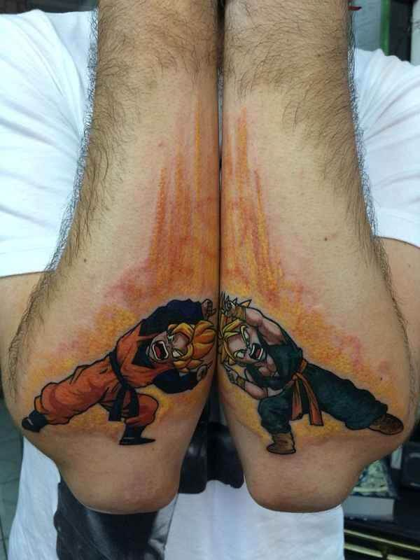 Dragon Ball Z Tattoos the ultimate manga/Anime 11