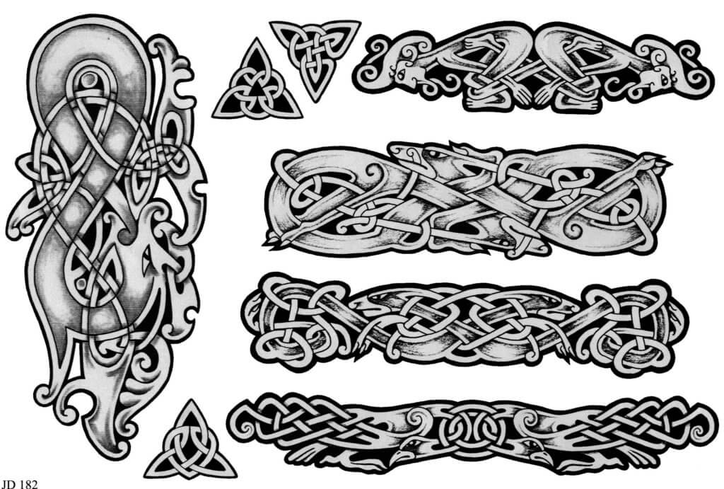 Mjolnir tattoo ideas you need to know of 18