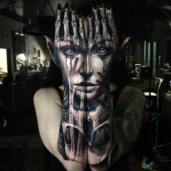 See ideas about 3D tattoos that will blow your mind 19