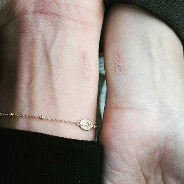 Amazing King and Queen Tattoos for passionate lovers 28