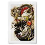 How to design your first Japanese Dragon Tattoo? 13