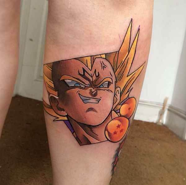Dragon Ball Z Tattoos the ultimate manga/Anime 8