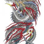 How to design your first Japanese Dragon Tattoo? 21