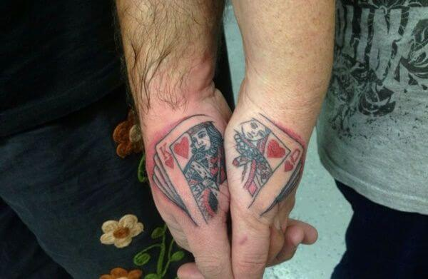 Amazing King and Queen Tattoos for passionate lovers 25