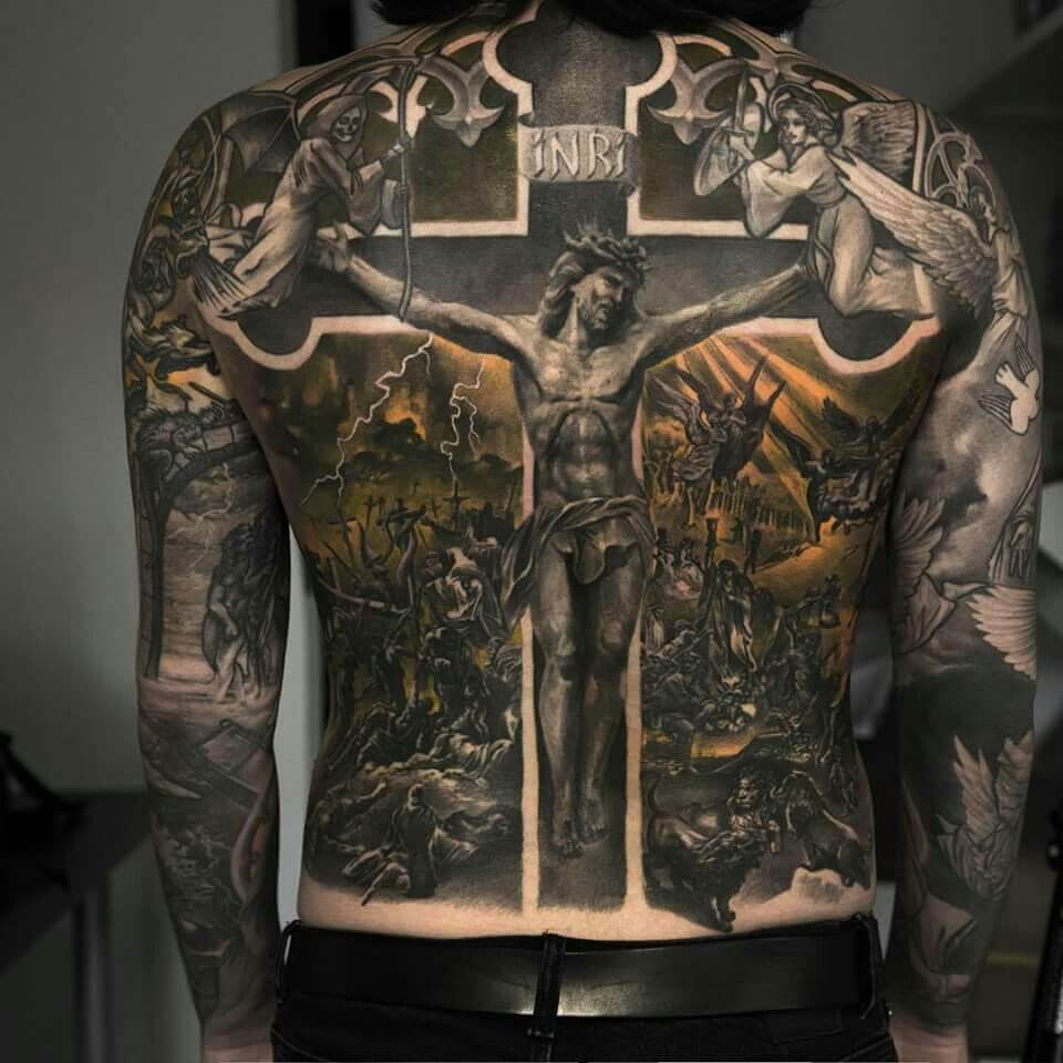 See ideas about 3D tattoos that will blow your mind 11