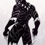 Black Panther tattoos : The Famous Marvel Character Who We All Love 10