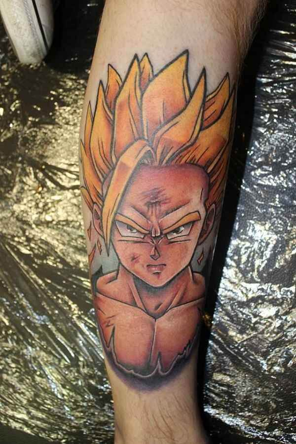 Dragon Ball Z Tattoos the ultimate manga/Anime 3