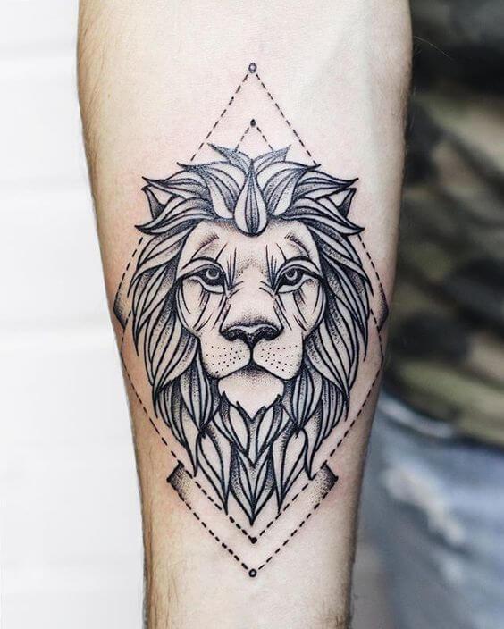 Alpha male tattoo
