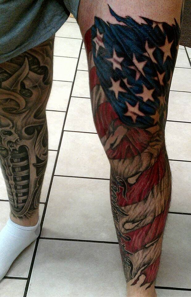 See ideas about 3D tattoos that will blow your mind 30
