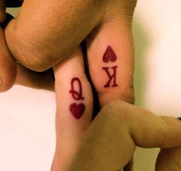 Amazing King and Queen Tattoos for passionate lovers 49