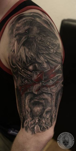 Mjolnir tattoo ideas you need to know of 29