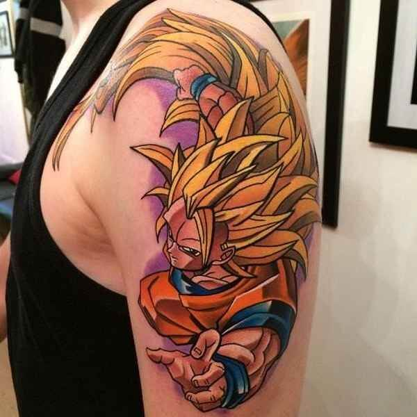 Dragon Ball Z Tattoos the ultimate manga/Anime 16