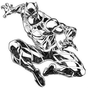 Black Panther tattoos : The Famous Marvel Character Who We All Love 2