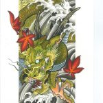 How to design your first Japanese Dragon Tattoo? 35