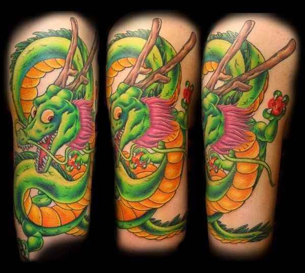 Dragon Ball Z Tattoos the ultimate manga/Anime 21