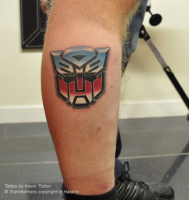 Getting a Transformers tattoo after watching the films 6