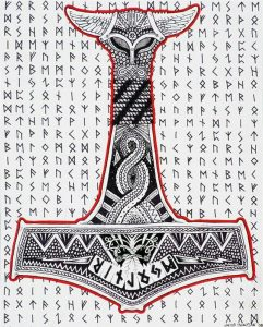 Mjolnir tattoo ideas