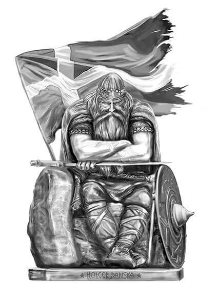 Mjolnir tattoo ideas you need to know of 36