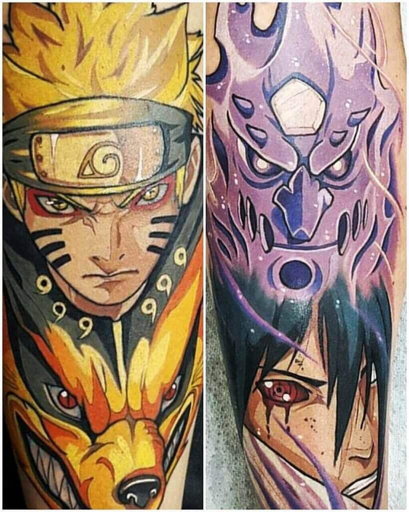Naruto tattoos ideas and meanings ( With Pictures ) 47