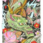 How to design your first Japanese Dragon Tattoo? 42