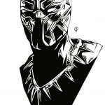 Black Panther tattoos : The Famous Marvel Character Who We All Love 11