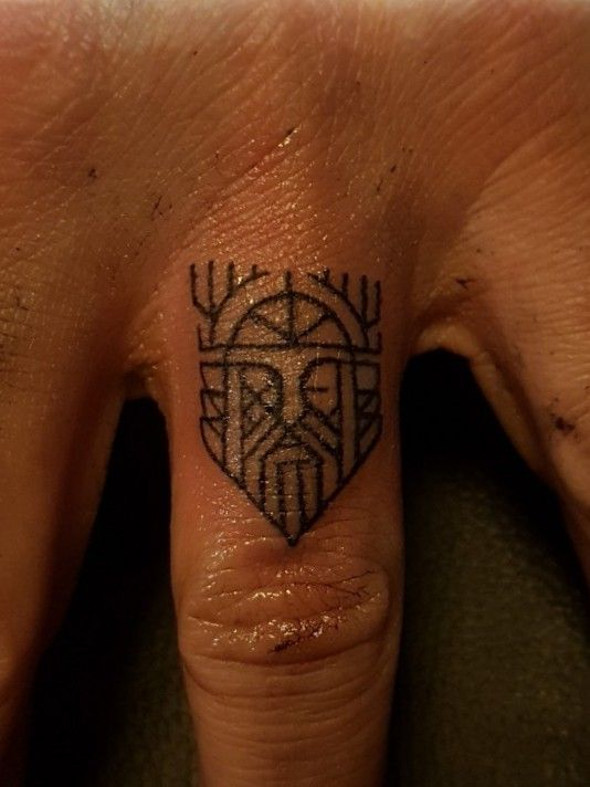 Mjolnir tattoo ideas you need to know of 41