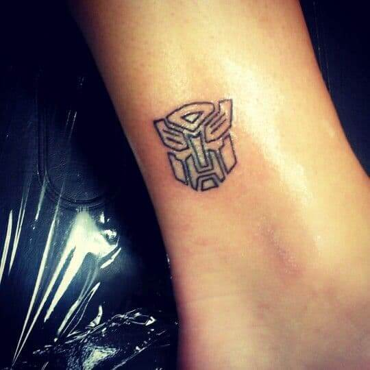 small transformers tattoos