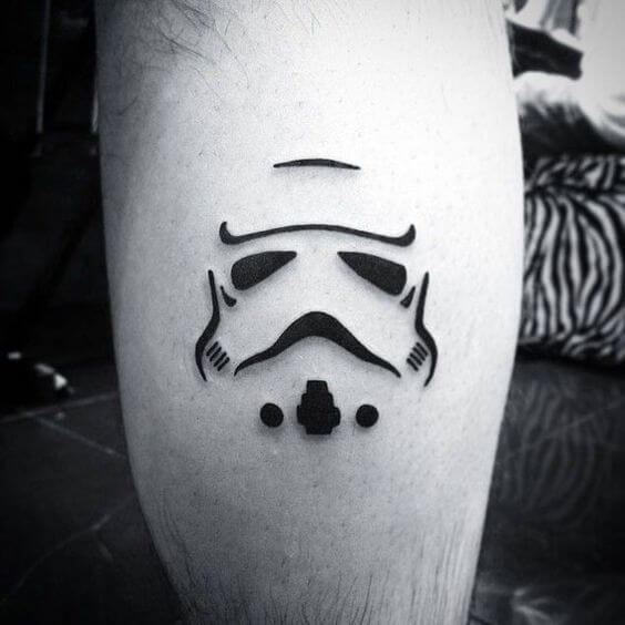 star wars tattoo design on hand