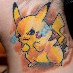 Why people get Pokemon tattoos on their body? 102