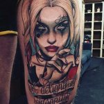 The Current Trend of Making Harley Quinn Tattoo 16