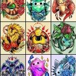 Why people get Pokemon tattoos on their body? 128