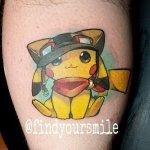 Why people get Pokemon tattoos on their body? 133