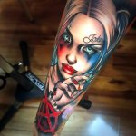 The Current Trend of Making Harley Quinn Tattoo 49
